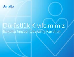 Baxalta Global Davranış Kuralları