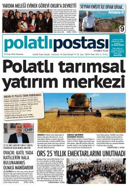 2 - Polatlı Postası