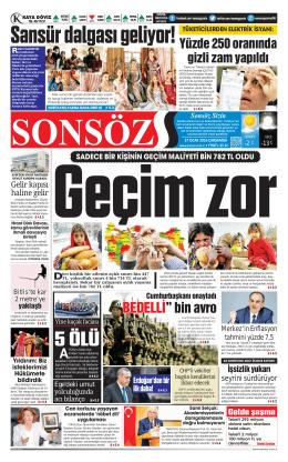 S.3 - Sonsöz Gazetesi