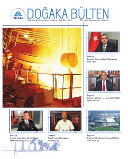 DOĞAKA 3 Aylık Dergi Ocak 2016 Sayı 8