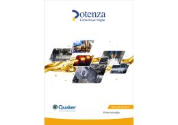 Potenza E-Katalog için Lütfen Tıklayınız