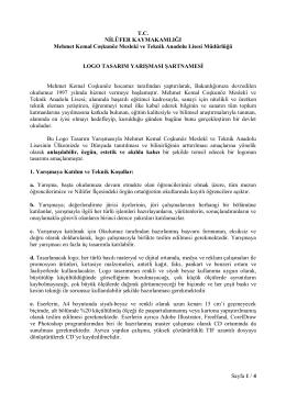 Sayfa 1 / 4 TC NİLÜFER KAYMAKAMLIĞI Mehmet Kemal Coşkunöz