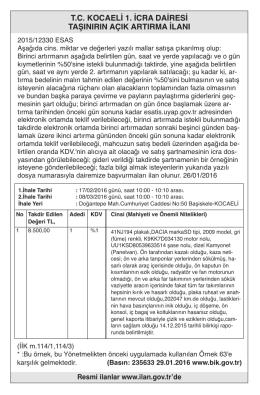 tckocaeli1.icradairesi taşınırınaçıkartırmailanı