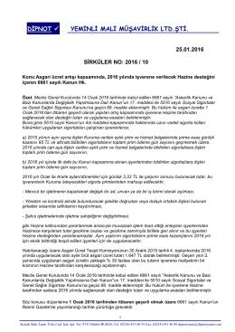 sırk 2016-10 2016 yılı sgk devlet desteği hk.