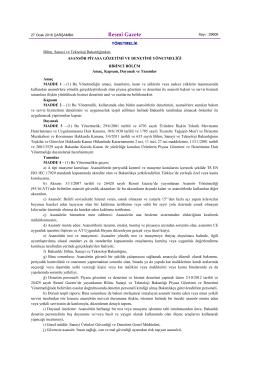 PGD Yönetmelik 27.1.16