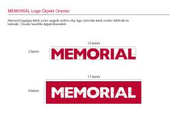 MEMORIAL Logo Ölçekli Oranlar
