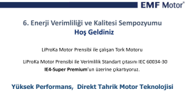 LiProKa Motor Prensibi