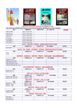 TR PDF Döküman
