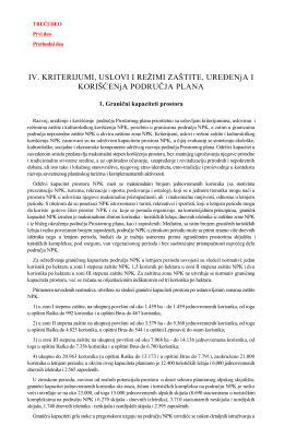 Uredbu o utvrđivanju Prostornog plana područja posebne namene