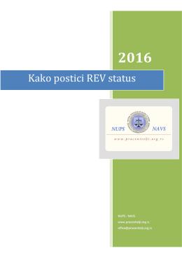 Kako postati REV - procenitelji.org.rs