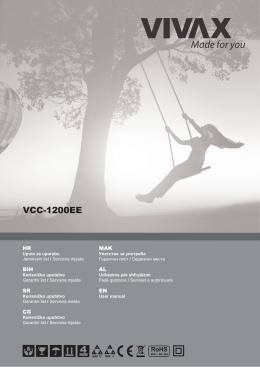 Upute_VC-1200EE PDF / 12111,61 KB