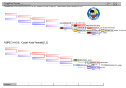 REPECHAGE: Cadet Kata Female(1,2)