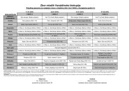 Prijedlog-pjesama-2016-2 - Zbor mladih Varaždinske biskupije
