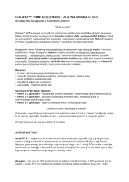 pročitajte pdf - Colway Natural Collagen