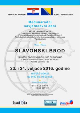 Međunarodni savjetodavni dani - Hrvatski zavod za mirovinsko