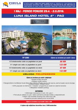 1 MAJ 2016 - Luna Island Hotel