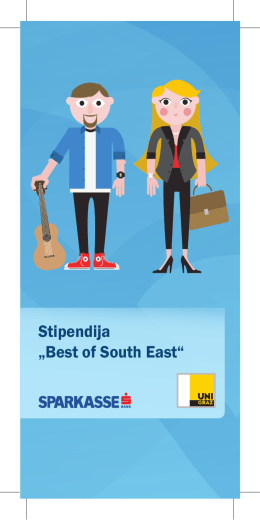 "Stipendija ""Best of South East"""
