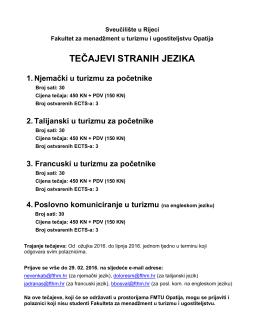 Informacije - FMTU - Sveučilište u Rijeci