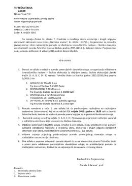 ovdje - Tehnička škola Zadar