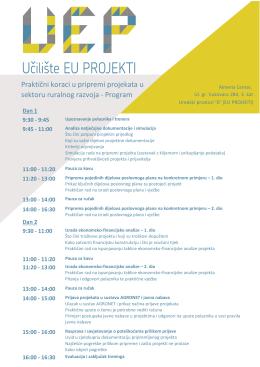 Program - EU Projekti info