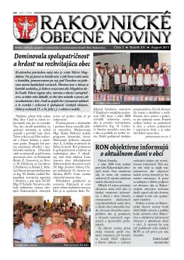 ron32015 - Obec Rakovnica
