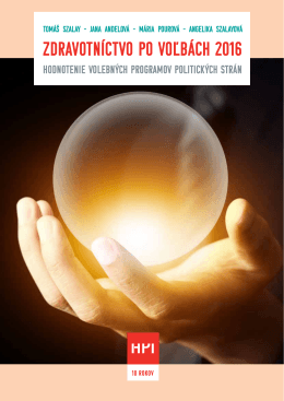 stiahnuť - Health Policy Institute