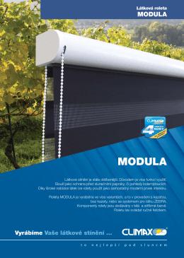 Roleta MODULA