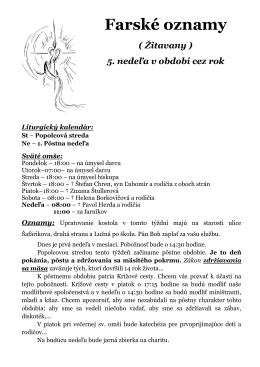 Žitavany - farnostzitavany.sk