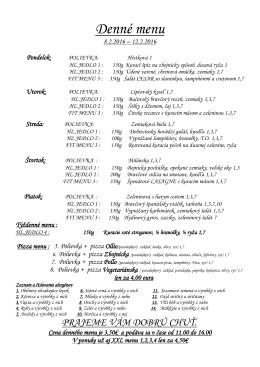 PDF Týždenné menu - Ma