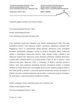 Kolektív pedagógov Ústavu maďarskej jazykovedy a literárnej vedy