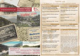VYHNE 2016 - Slovenská asociácia srdcových arytmií