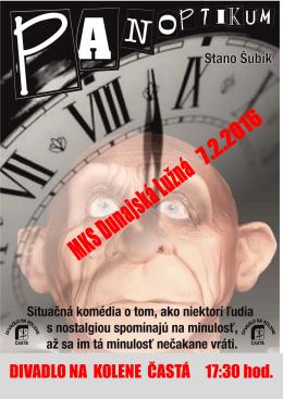 MKS Dunajská Lužná pozýva na divadelné