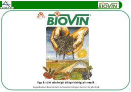 Egy kiváló minőségű átfogó biológiai termék
