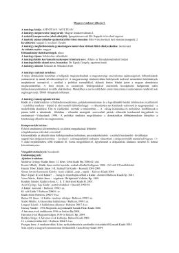 (Magyar rendszerváltozás I.)