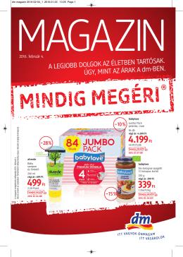 Letöltés - dm drogerie markt Magyarország