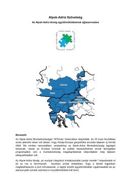 Von der Arbeitsgemeinschaft Alpen-Adria zur