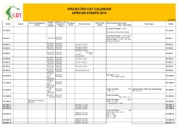 PROJECT CAT CALENDAR 010216