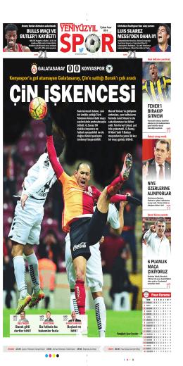 Konyaspor`a gol atamayan Galatasaray, Çin`e sattığı Burak`ı çok