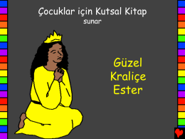 Beautiful Queen Esther Turkish