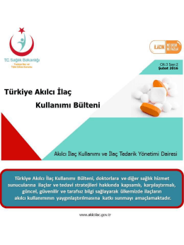aik bltn 17 - Akılcı İlaç Kullanımı