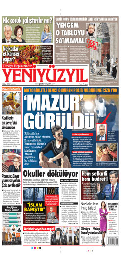 Okullar dökülüyor - Yeni Yüzyıl Gazetesi