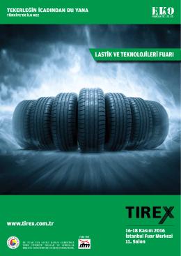 E- broşür - Tirex Lastik ve Teknolojileri Fuarı