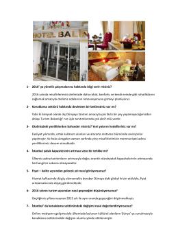 Sıkça Sorulanlar - Balin Boutique Hotel