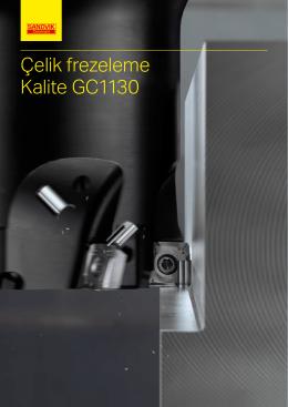 Çelik frezeleme Kalite GC1130