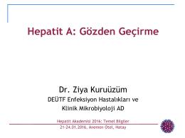 Hepatit A Virüsü
