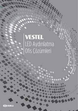 Vestel LED Ofis 2015