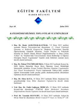 Bulletin 68-Feburary 2016
