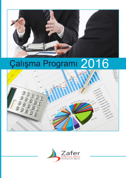2016 yılı çalışma programı