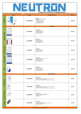 model alarm setleri fiyat tl alarm set nta-gna8540 1.035,00