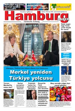 Merkel yeniden Türkiye yolcusu
